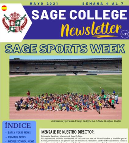 School Newsletter 07-05-2021