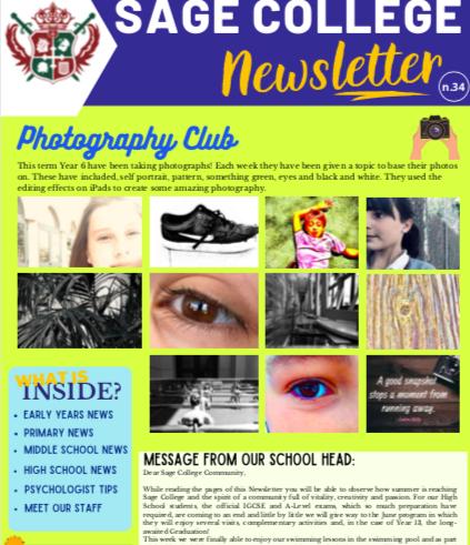 School Newsletter 28-05-2021