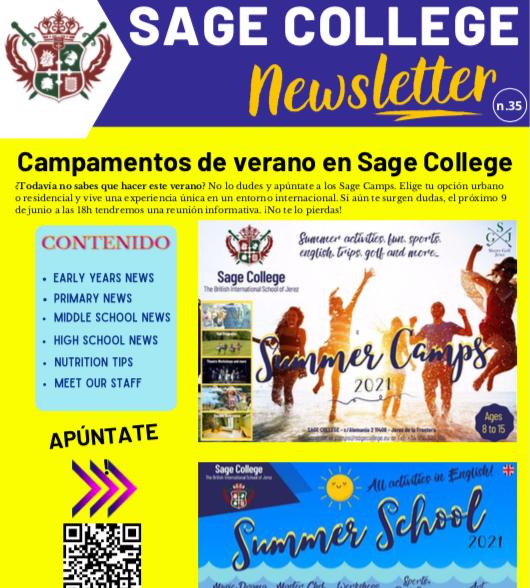 School Newsletter 04-06-2021