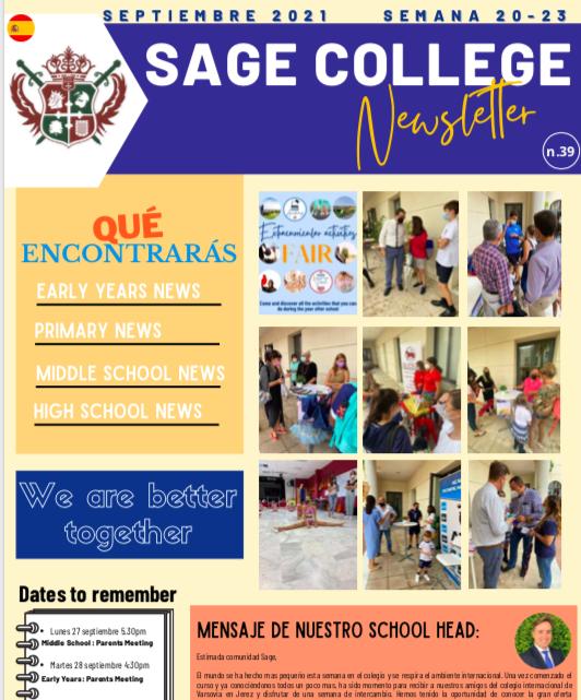 School Newsletter 24-09-2021