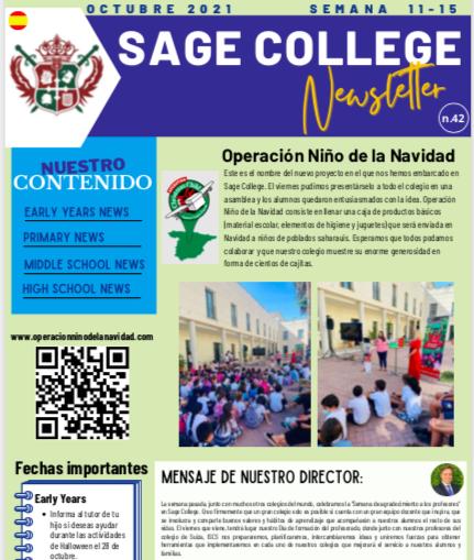 School Newsletter 15-10-2021